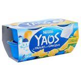 Nestlé Yaos le Yaourt à la Grecque Citroenpulp 4 x 125 g