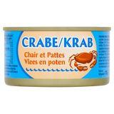 Krab Vlees en Poten 170 g