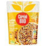 Céréal Bio Cuisiné Lentilles, Riz & Soja 250 g