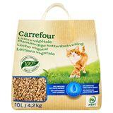 Carrefour Plantaardige Kattenbakvulling 4.2 kg