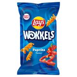Lay's Wokkels Paprika Chips 125 gr
