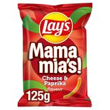 Lay's Chips Mama Mia's Paprika Fromage 125 gr