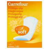 Carrefour Inlegkruisjes Soft Normal 60 Stuks