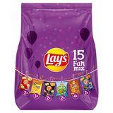 Lay's Fun Mix Pack Chips 15 zakjes 371 gr