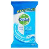 Dettol Power & Fresh Multi-Reiniging Doekjes Oceaanfris 80 Stuks