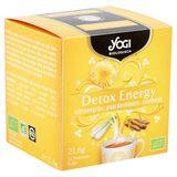 Yogi Biologique Detox Énergie Citronelle, Pissenlit, Réglisse Sachets d'Infusion 12 x 1.8 g
