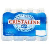 Cristaline Eau de Source 12 x 50 cl