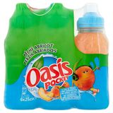 Oasis Pocket Pêche Abricot 6 x 25 cl