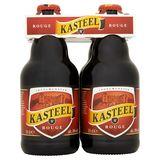 Kasteel 8° Rouge Bière Belge Bouteille 4 x 33 cl