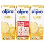 Alpro Soya Banana 3 x 250 ml
