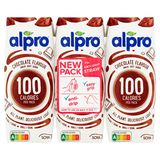 Alpro Chocolate Smaak 100 Calories per Pack 3 x 250 ml