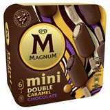 Magnum Ola Ijs Multipack Mini Double Caramel 6 x 60 ml