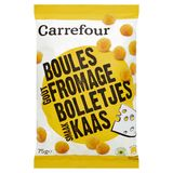 Carrefour Boules Goût Fromage 75 g