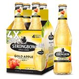 Strongbow Apple Ciders Gold Apple Flessen 4 x 330 ml