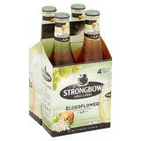 Strongbow Apple Ciders Elderflower Bouteilles 4 x 330 ml
