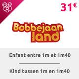 Bobbejaanland: Billet enfant (entre 1m - 1m40)