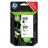 HP - Inktcartridge 301 - BL/C/M/Y
