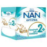 NAN® OPTIPRO Lait de Croissance 2+ Bébé dès 2 Ans 6 x 1 L