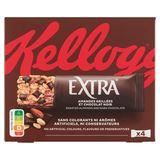 Kellogg's Extra Verrukkelijke Reep Geroosterde Amandelen en Chocolade 4 x 32 g