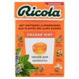 Ricola Orange Mint Zwitserse Kruidenpastilles 50 g