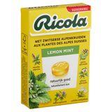 Ricola Lemon Mint Zwitserse Kruidenpastilles 50 g