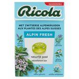 Ricola Alpin Fresh Zwitserse Kruidenpastilles 50 g