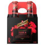 Schweppes Premium Mixer Hibiscus 4x20cl