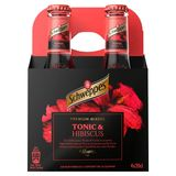 Schweppes Premium Mixer Tonic Hibiscus 4 x 20 cl