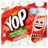 Yoplait Yop Aardbeismaak Petit 6 x 180 g