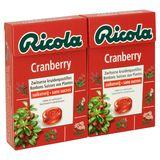 Ricola Cranberry Bonbons Suisses aux Plantes 2 x 50 g