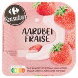 Carrefour Sensation Aardbei 180 g