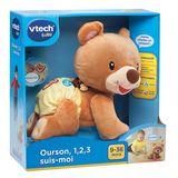 VTech Baby Ourson 1,2,3 Suis-Moi 9M+ (FR)