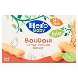 Hero Baby Bio Lange Vingers Biscuit 8+ Maanden 6 x 20 g