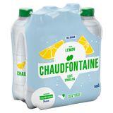 Chaudfontaine Lemon Sparkling No Sugar Pet 500Ml X 6