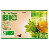 Carrefour Infusie Verbena 20 Zakjes 26 g