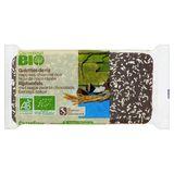 Carrefour Bio Galettes de Riz Chocolat Noir Noix de Coco Râpée 90 g