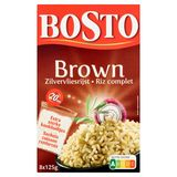 Bosto Brown Riz Complet 8 x 125 g