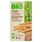 Carrefour Bio Gressins au Sésame 125 g