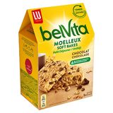 LU BelVita Petit Déjeuner Le Moelleux Pépites de Chocolat 250 g