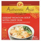 Authentic Asia Soupe Raviolis Chinois Crevettes & Chou Chinois 145g