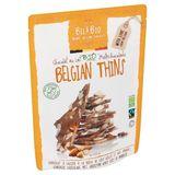 Bel&Bio Belgian Thins Chocolat au Lait Bio 120 g