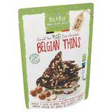 Bel&Bio Belgian Thins Chocolat Noir Bio 120 g