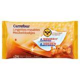 Carrefour Meubeldoekjes met Bijenwas 24 Stuks