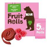 Bear Yoyos Pure Fruit Raspberry 10 Fruit Rolls