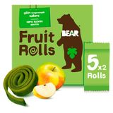 Bear Yoyos Pure Fruit Apple 10 Fruit Rolls