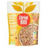 Céréal Bio Cuisiné Lentilles, Millet & Petits Légumes 250 g