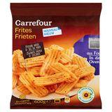 Carrefour Frieten Zwarte Peper & Zeezout 600 g