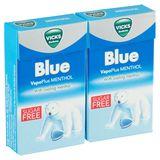 Vicks Bonbons Blue VapoPlus Menthol 2 x 40 g