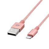 Poss - Câble Lightning 1m PSL-1B - Rose