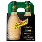 Schweppes Premium Mixer Ginger Ale 4 x 20 cl